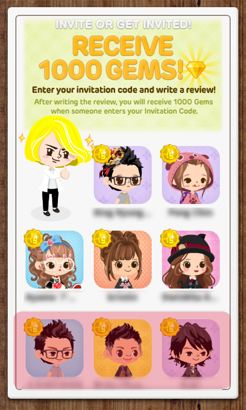 Lifestyle line play 1st walkthrough sort of cheats a step 5 go to the app store and write a review for line play to activate your code some say that a review is not needed to activate your code stopboris Gallery